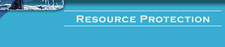 Resource Protection header bar graphic